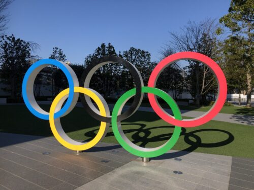 五輪マークオリンピックミュージアム