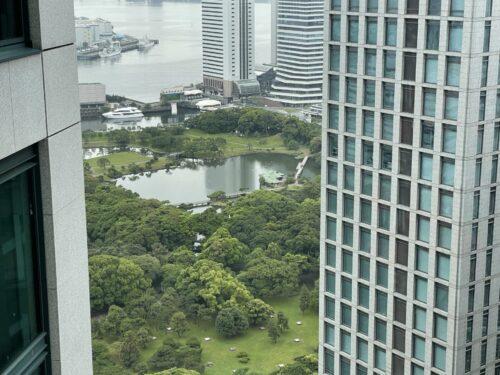 コンラッド東京眺め