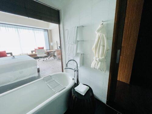 コンラッド東京バスルーム