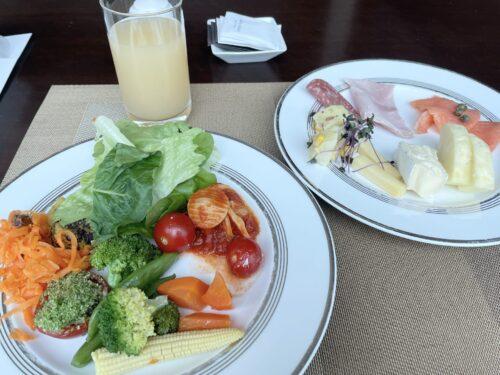 コンラッド東京朝食