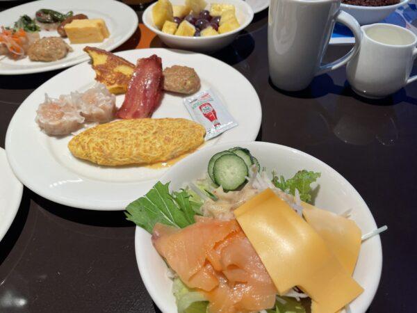 ヒルトン東京ベイ朝食